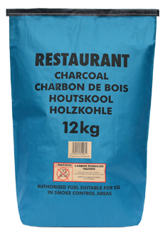 12KG Blue Bag Charcoal